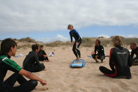 Group Boston Surf Lessons