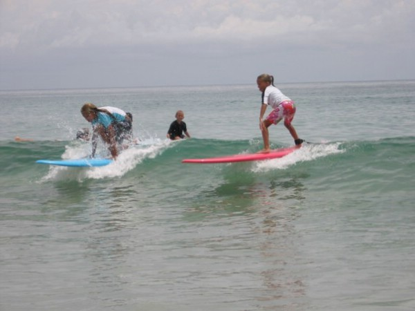 Group Surf Lessons are a Great Summer Activity the Whole Family can Enjoy